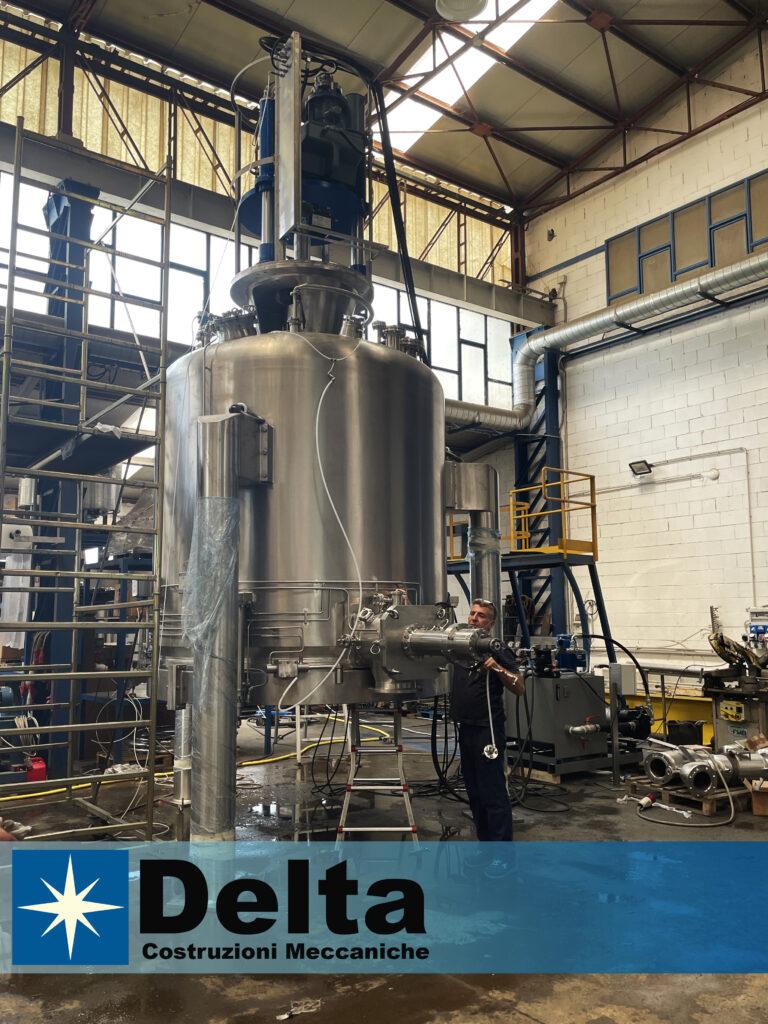 Large Nutsche Filter Dryer Delivery Delta Costruzioni Meccaniche - Delta 7 9 21 1