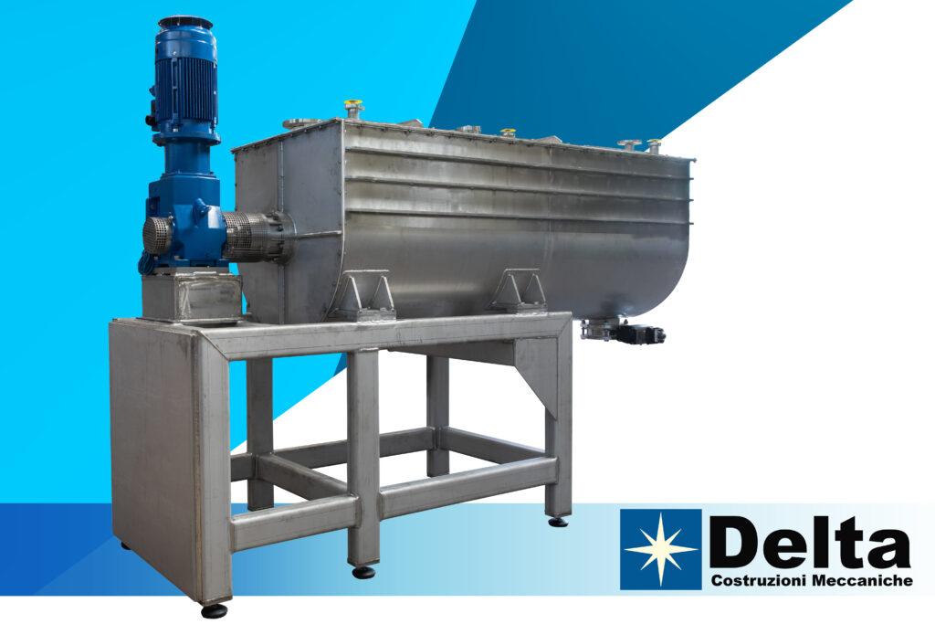 Powder Mixer Delivery Delta Costruzioni Meccaniche - 9 16 21